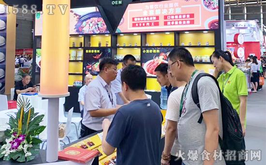 为餐饮行业提供全套解决方案!【华畅调味食品】在上海国际餐饮食材展大受欢迎!