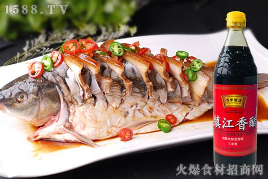 百年恒庆镇江香醋,提味增香、去腥解腻,百搭食醋味道好!