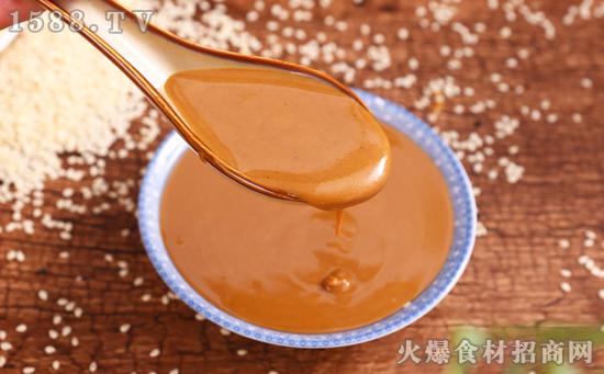 汇晔精制麻酱,精心磨制,芝香四溢,美味更健康!