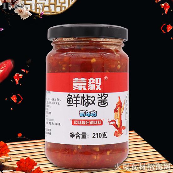蒙毅鲜椒酱,美味不落下,让您吃个满足!