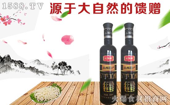 梗阳湖十年原浆6度手工醋,酸味醇厚不烈,非常适口!