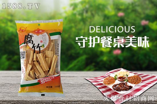 绿翠精品腐竹,可烧、可炒、可做汤,豆香芬芳,独具风味!