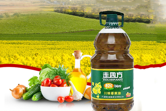 走四方温榨川味香菜油5L