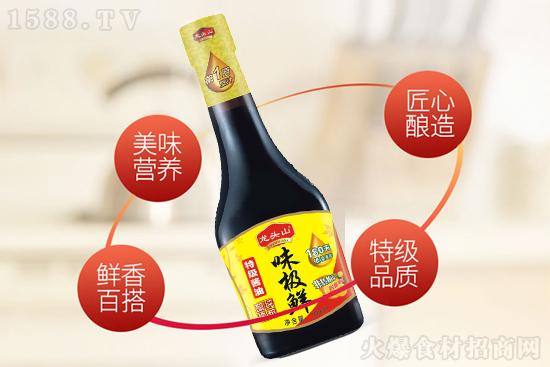 """龙头山味极鲜特级酱油,""""鲜""""上加""""鲜""""!"""