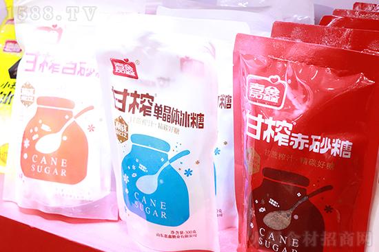 咨询不断!【嘉鑫糖业】在2021年糖酒会上大放异彩!