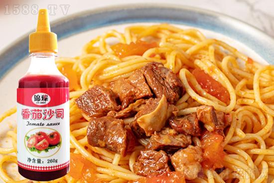 锦臻番茄沙司,美食百搭,美味在线,厨房必备!