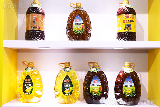 海天食用油,阳光放心油!【青龙高科油脂】亮相春糖引关注!