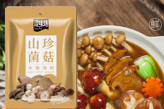 臻味坊山珍菌菇火锅汤料,菌菇香浓,回味无穷!