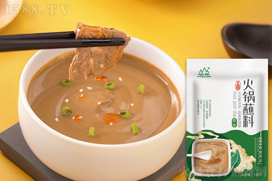 峪林火锅蘸料,鲜美蘸料,一口就心怡!