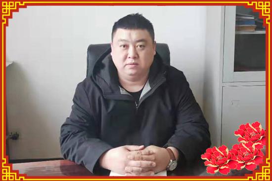 又是一年新春到,【粤联食品】柳经理祝大家幸福吉祥、身体健康!