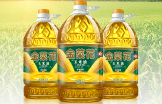 金菜花玉米油