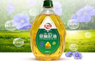 红井源榨一级纯香亚麻籽油