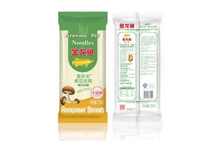 金龙鱼健康系列香菇多麦芯挂面
