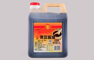 利民黄豆酱油