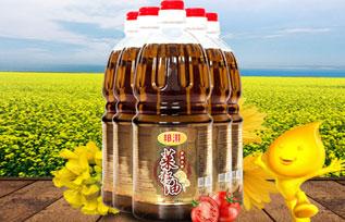 邦淇乡间小榨菜籽油