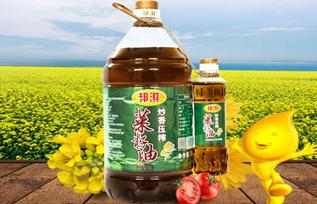 邦淇炒香压榨菜籽油